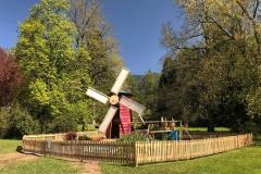 Parco-delle-Terme-Levico-Valsugana-Giardino-installazione-Ortinparco-mulino