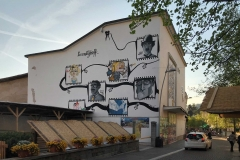 Levico-Terme-Valsugana-murales-centro-storico