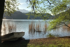 Levico-Terme-Valsugana-Lago-canneti-barca