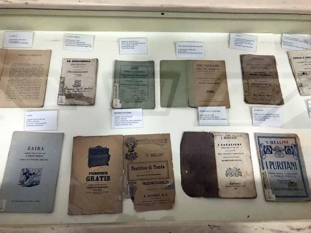 museo-civico-belliniano-catania-libretti-delle-opere-di-vincenzo-bellini