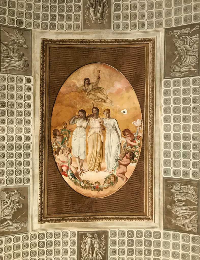 monastero-dei-benedettini-di-catania-stanza-dellabate-affreschi-del-soffitto