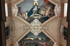 chiesa-della-collegiata-via-etnea-catania-soffitto-dipinto-moderno-madonna-e-santi