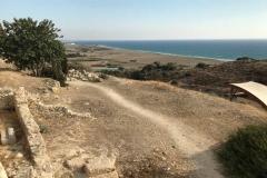 Parco-archeologico-di-Kourion-Cipro-resti-e-vista-sul-mare