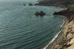 Roccia-di-venere-Cipro-vista-dallalto-dalla-strada