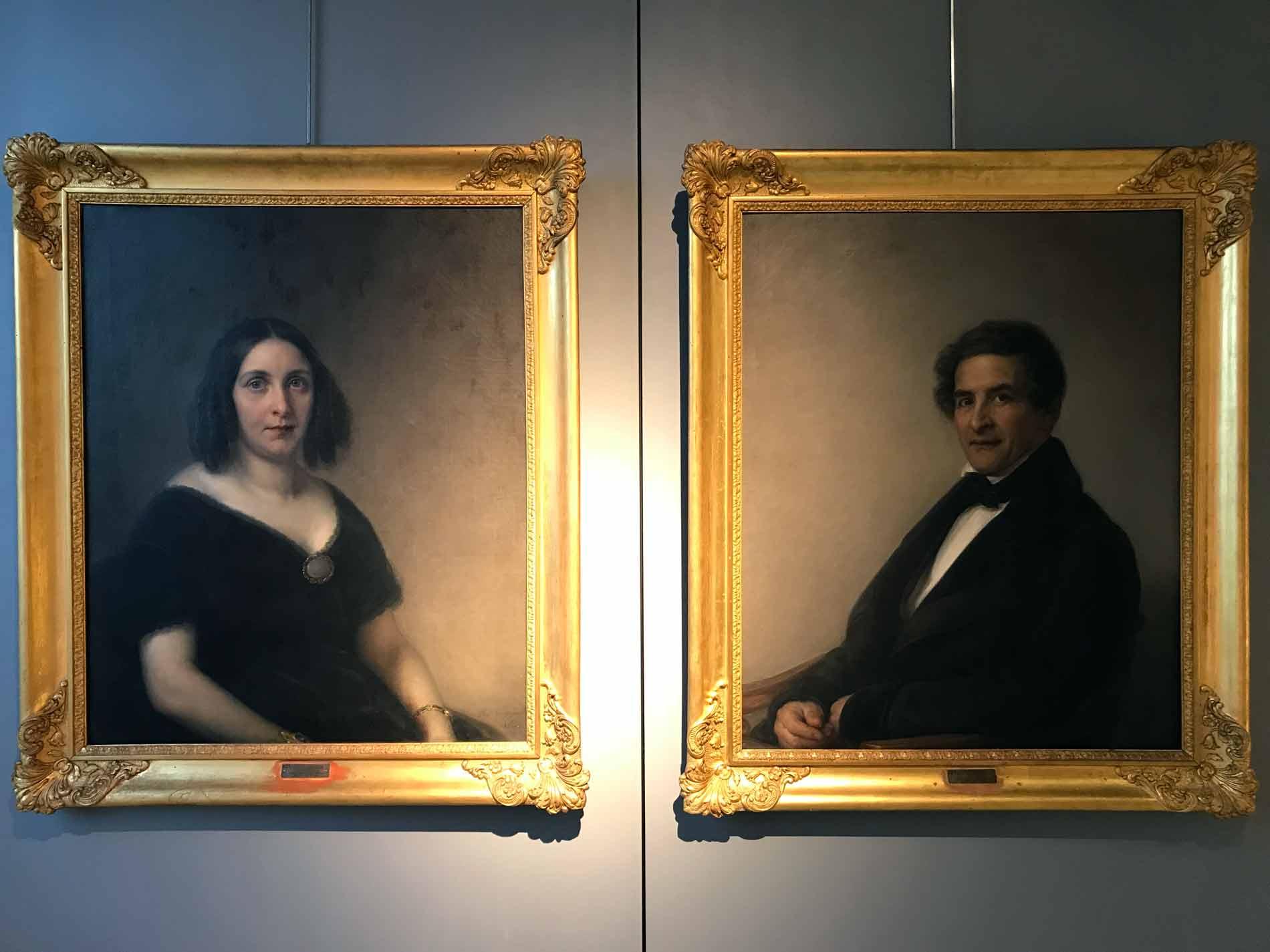 Museo-civico-ala-ponzone-cremona-il-Piccio-coppia-dipinti