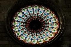 sebenico-croazia-rosone-interno-della-cattedrale