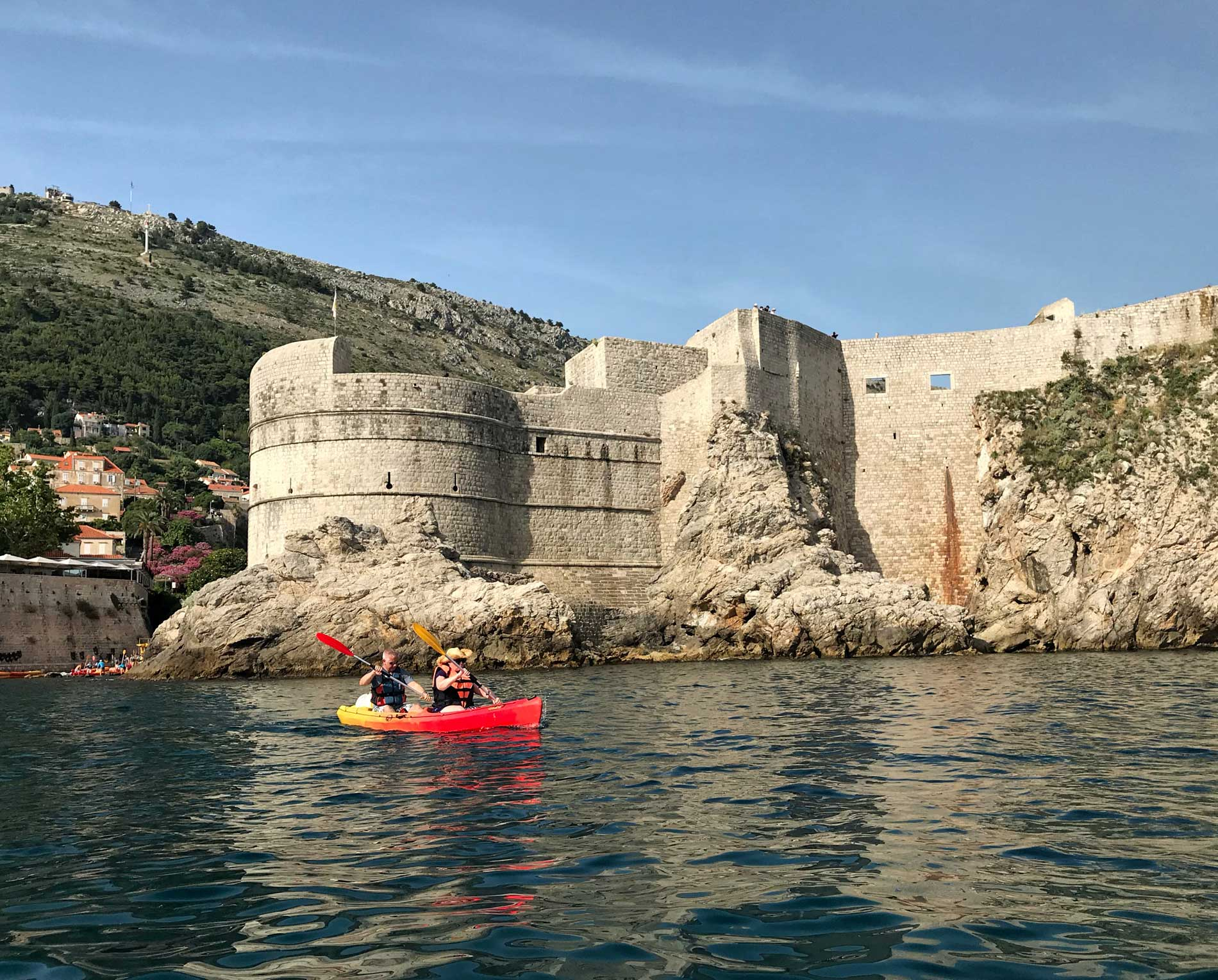 Dubrovnik-Croazia-kayak-adventure-Dubrovnik-Mura-bianche-Ragusa
