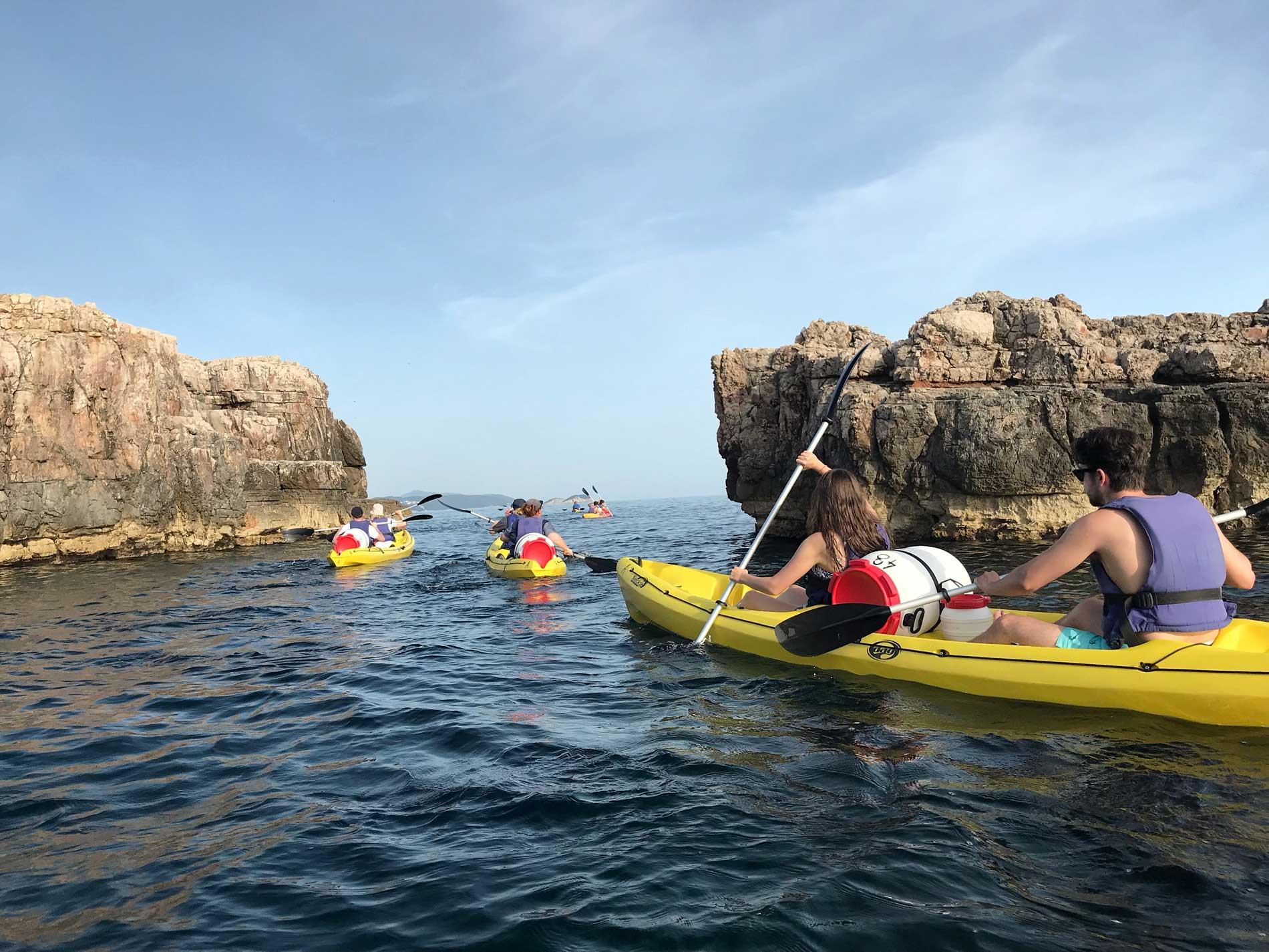 Dubrovnik-Croazia-mare-kayak-adventure-Dubrovnik