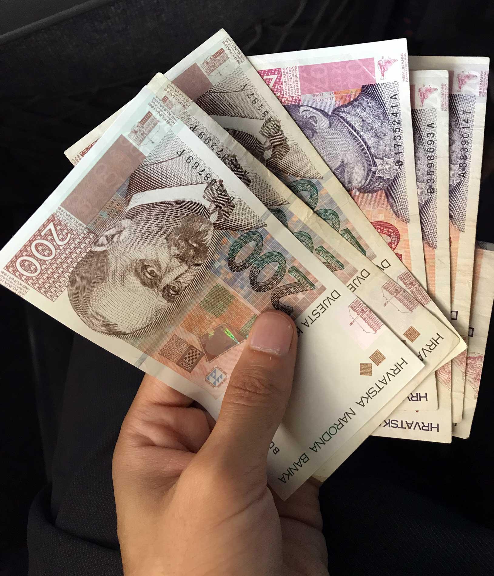 banconote-kune-moneta-Croazia