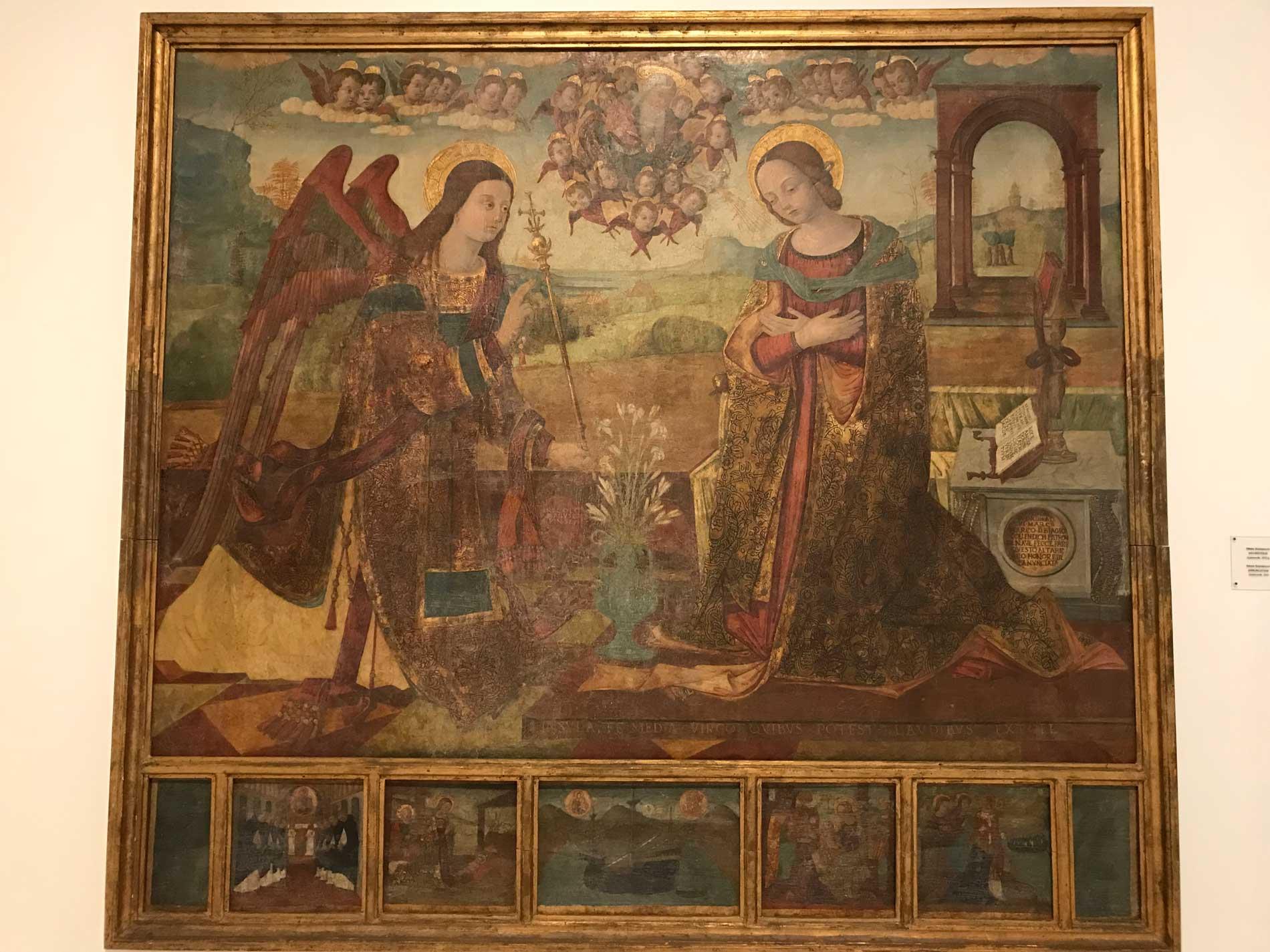 Dubrovnik-Croazia-monastero-dei-benedettini-quadro-ragusino