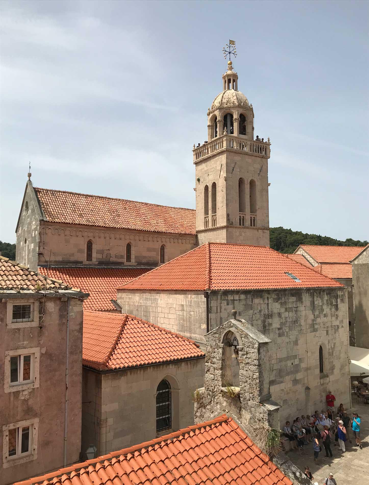 Korcula-Curzola-Croazia-vista-dalla-casa-di-Marco-Polo