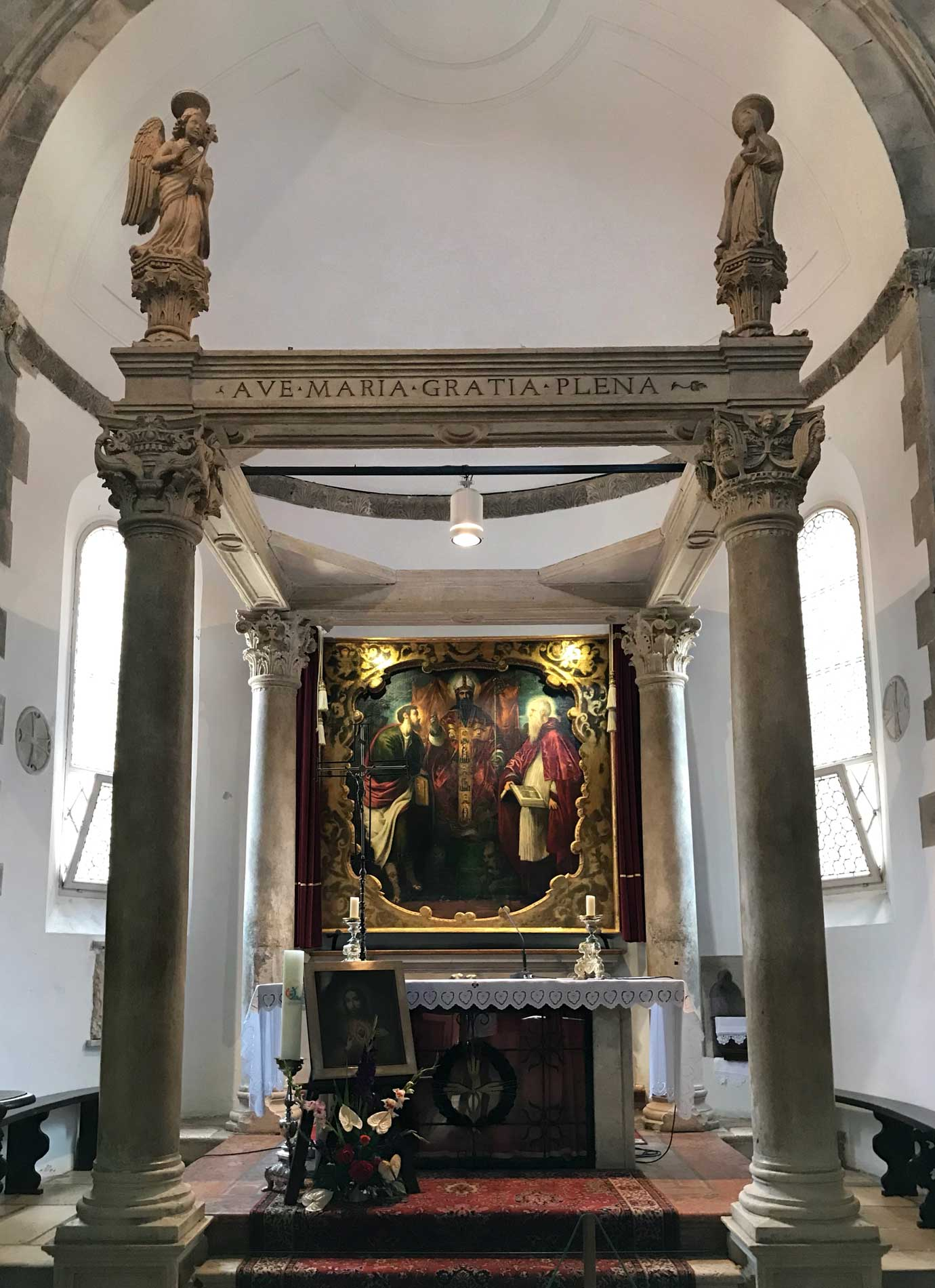 Quadro-Tintoretto-cattedrale-San-Marco-Korcula-Croazia