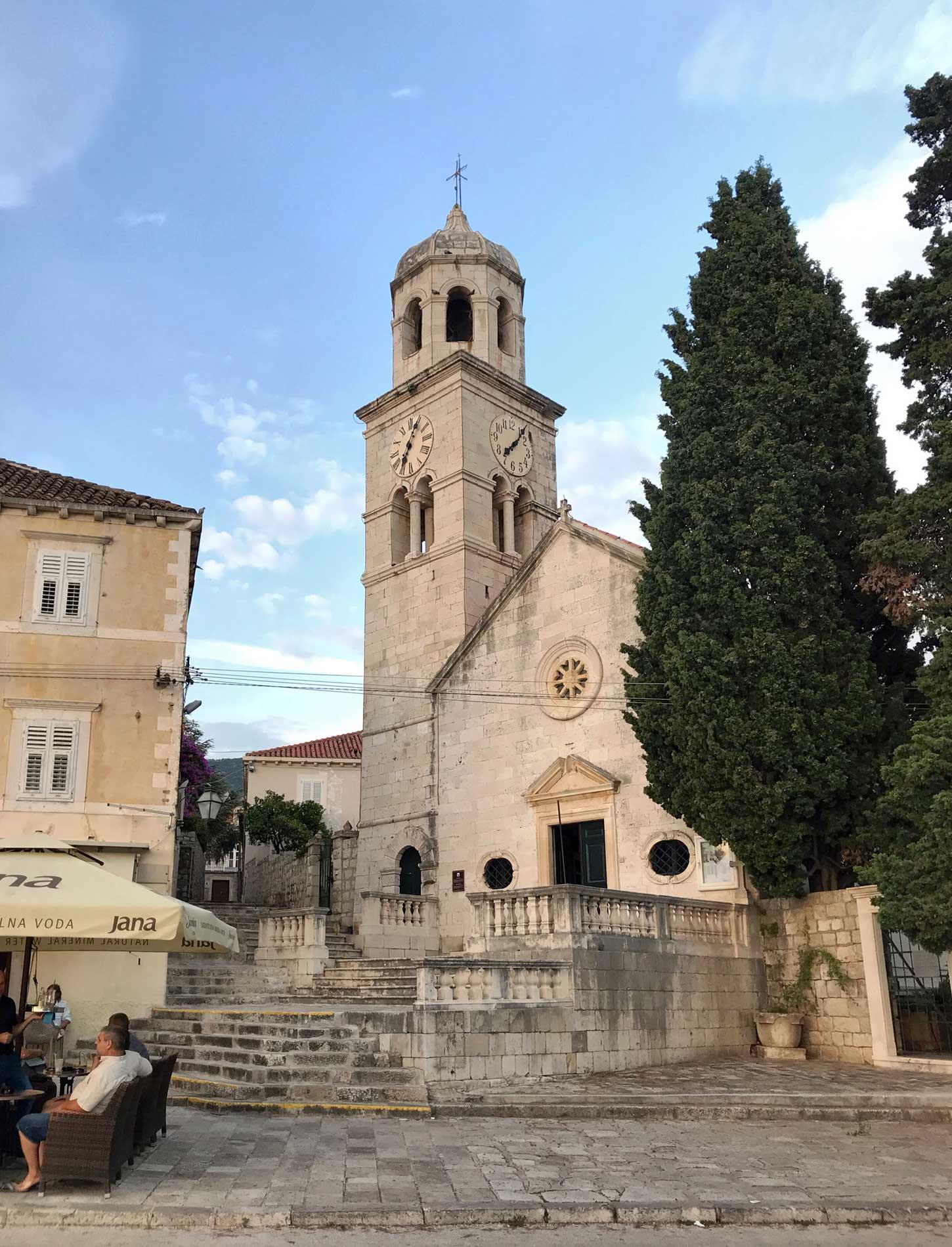 Cavtat-Dubrovnik-Croazia-chiesa-di-San-Nicola