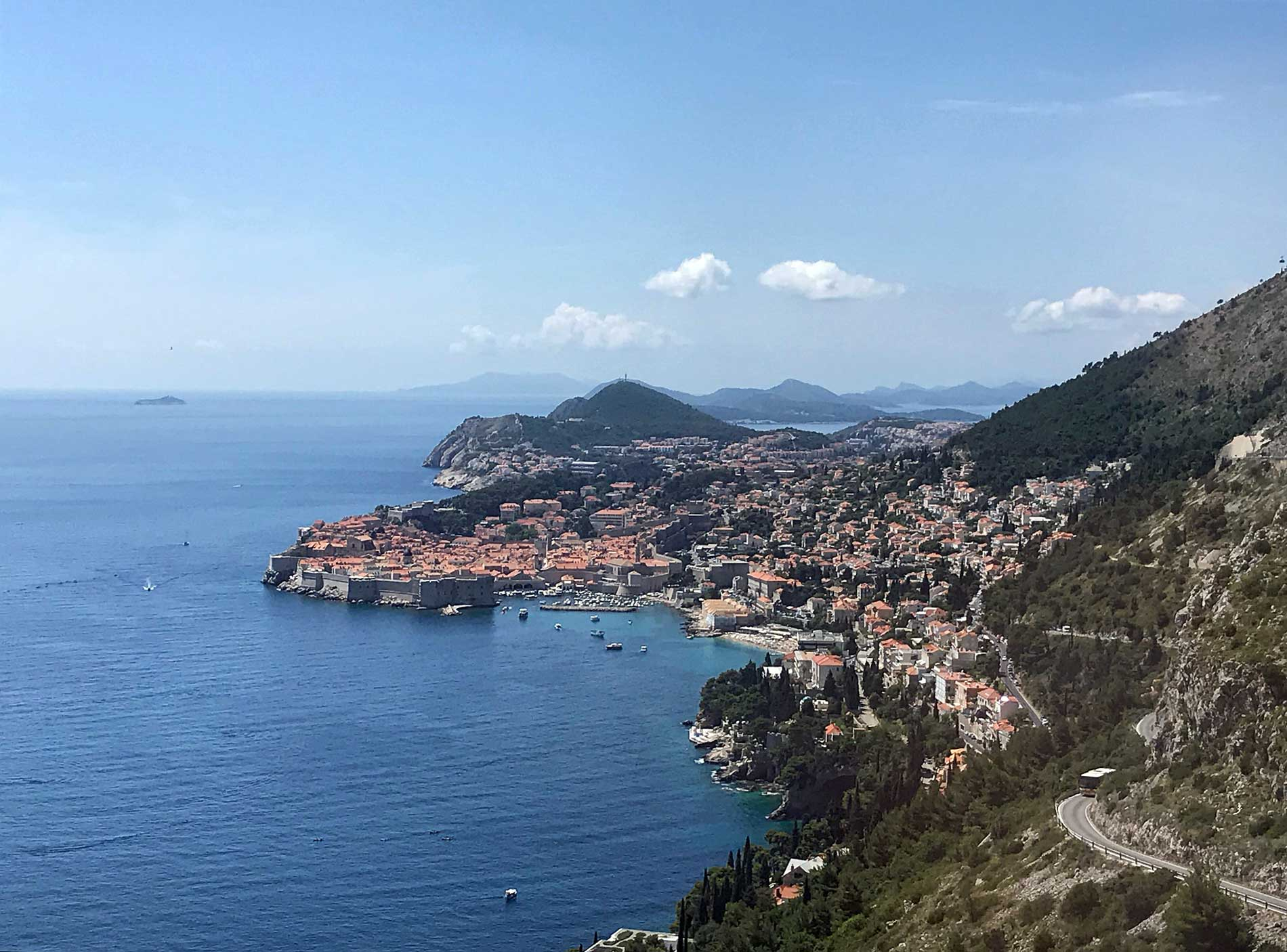 Dubrovnik-panorama-dalla-strada