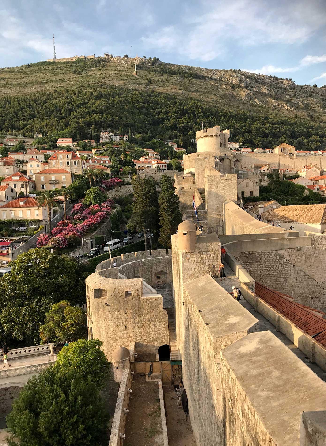 Dubrovnik-Croazia-vista-dalle-mura-Torre-Minceta