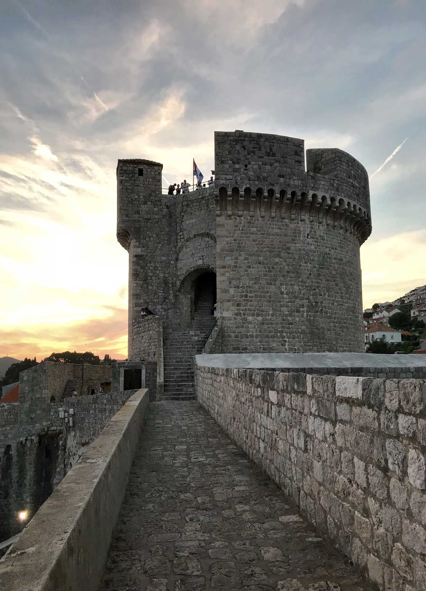 Dubrovnik-Croazia-Torre-Minceta-tour-delle-mura