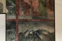 Rocca-di-Angera-famiglia-Borromeo-affreschi-parete-