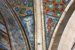 Rocca-di-Angera-famiglia-Borromeo-dettaglio-affreschi-sala-della-Giustizia