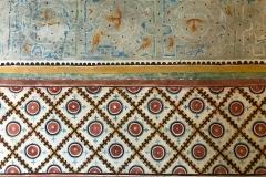 Rocca-di-Angera-famiglia-Borromeo-sale-storiche-sala-della-Giustizia-affreschi-parete