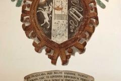 Rocca-di-Angera-stemma-famiglia-Borromeo-humilitas-affresco