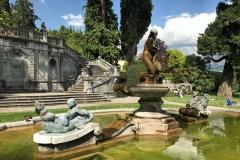 Parco-Teresio-Olivelli-Tremezzo-Lago-di-Como-fontana-statue-giardino