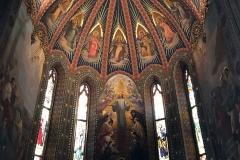 Lovere-Santuario-Sante-Gerosa-e-Capitanio-abside-dipinti-mosaici-finestre