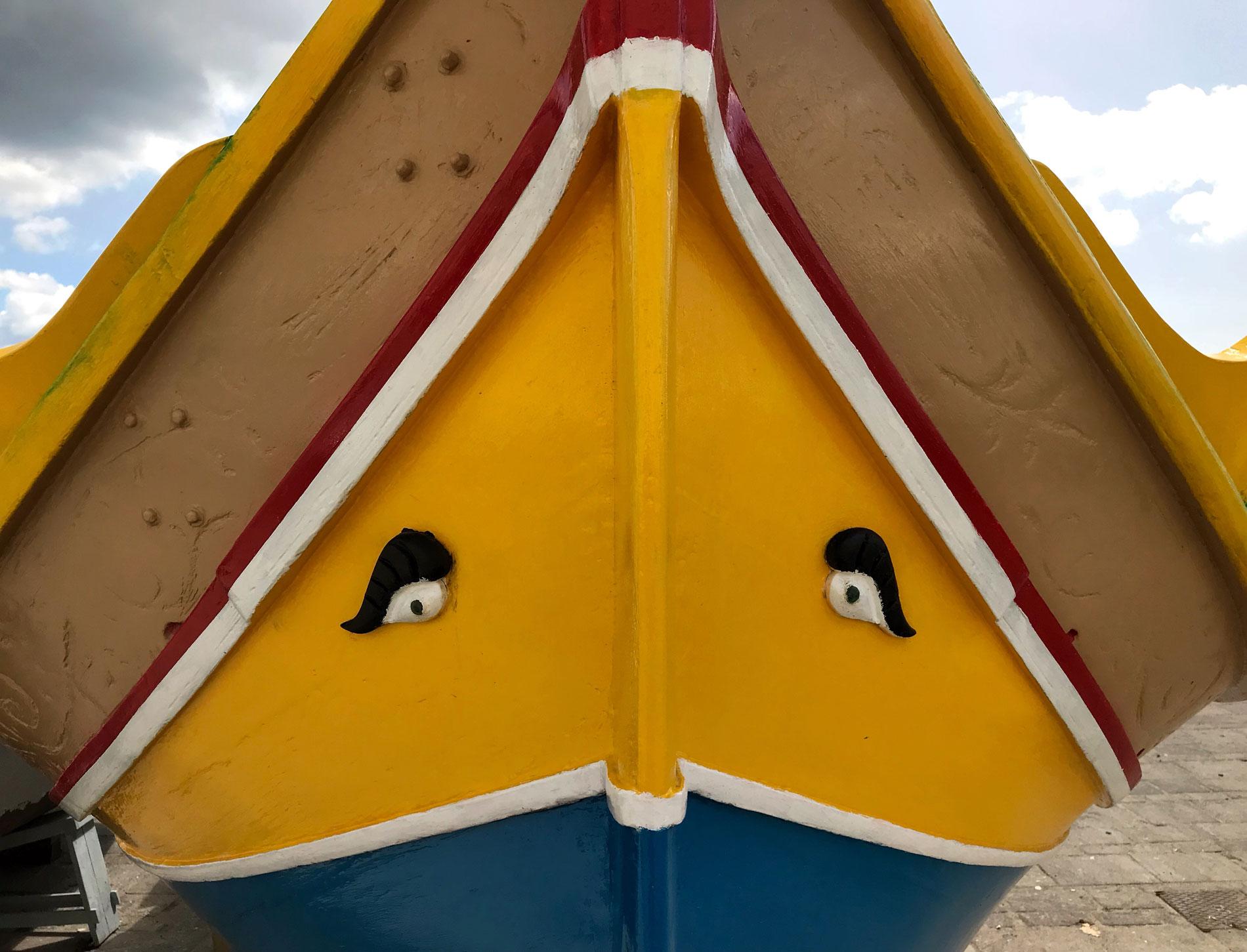 Luzzu-Marsaxlokk-Malta-barca-colorata-occhi-osiride