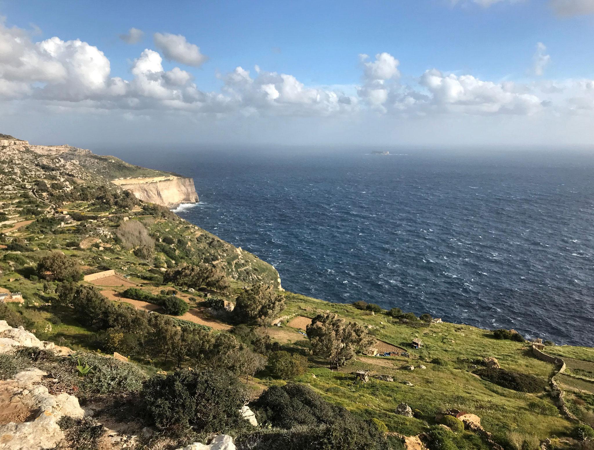 Dingli-Cliffs-Malta-panorama-mare-cielo-natura