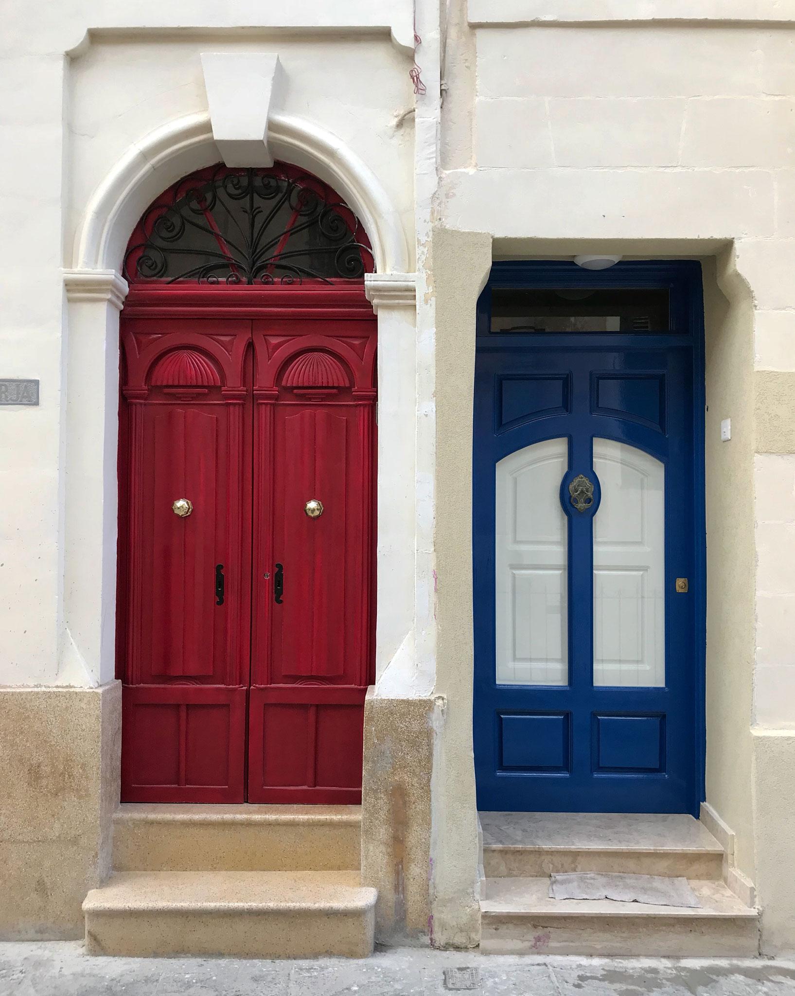 Rabat-Malta-porte-colorate