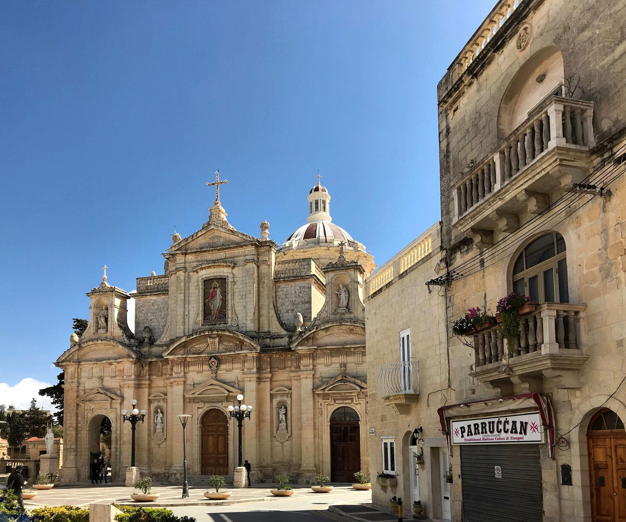 Rabat-Malta-Colleggiata-San-Paolo-stile-barocco