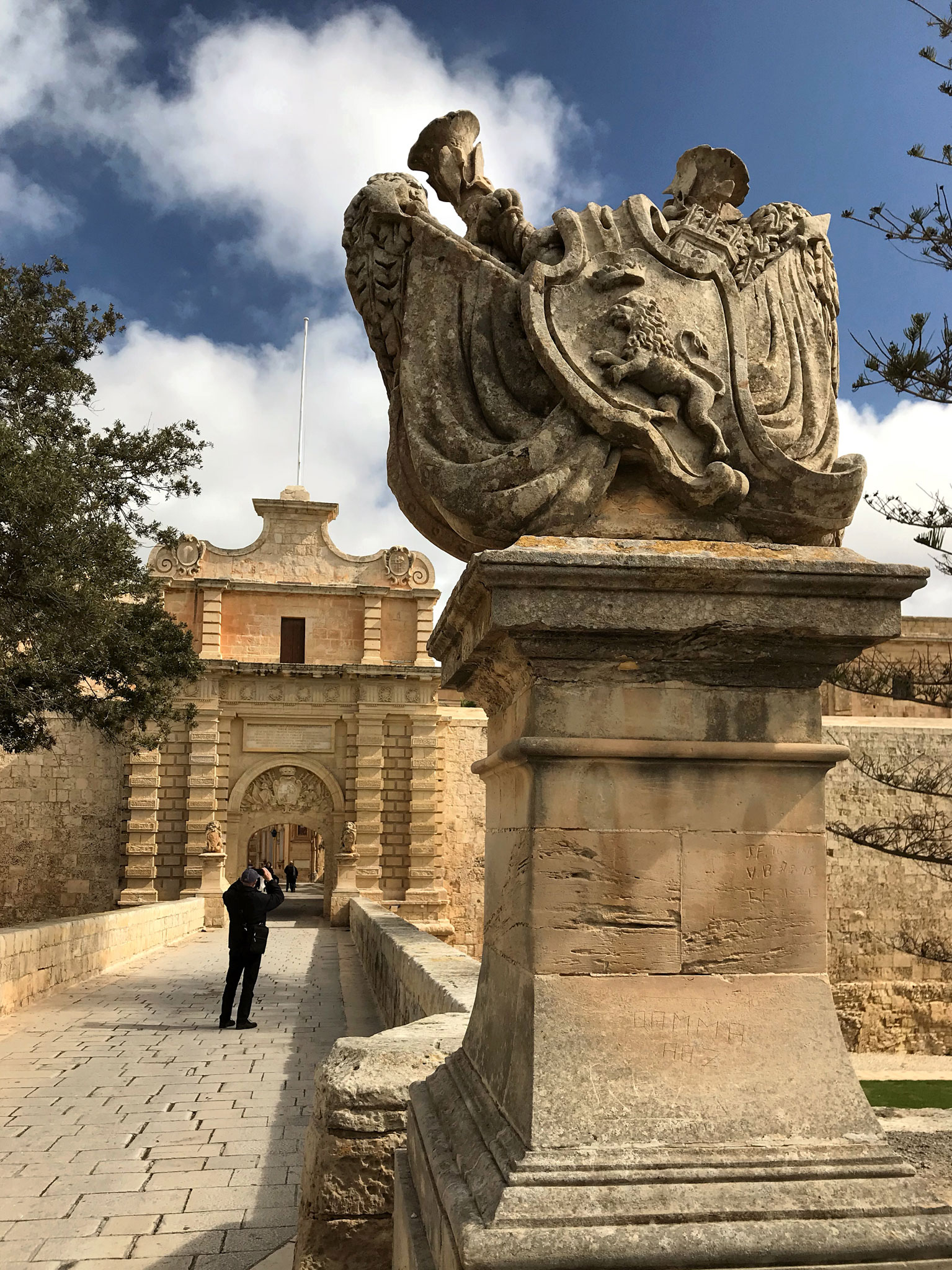 Mdina-Malta-city-Gate-mura-arabe