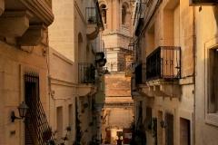 Vittoriosa-Malta-Tre-Città-Chiesa-via-scorcio