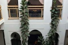Riad-ecila-Marrakech-medina-patio-piante-stile-arabo