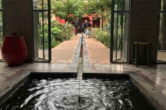 il-giardino-segreto-Marrakech-rue-mouassine-fontana-acqua-canale