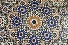 Palazzo-Bahia-marrakech-medina-pavimento-mosaico-geometrico-zellige-stile-arabo