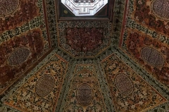 Palazzo-Bahia-marrakech-medina-soffitto-decorato-dipinto