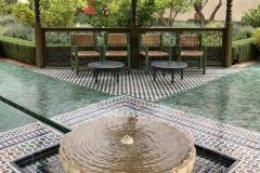 il-giardino-segreto-Marrakech-padiglione-centrale-qubba-fontana-acqua-mosaici-colori