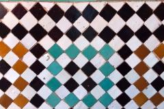 tombe-saadiane-marrakech-kasbah-mosaici-geometrici-in-zellige-arte-arabo-moresca-dettaglio