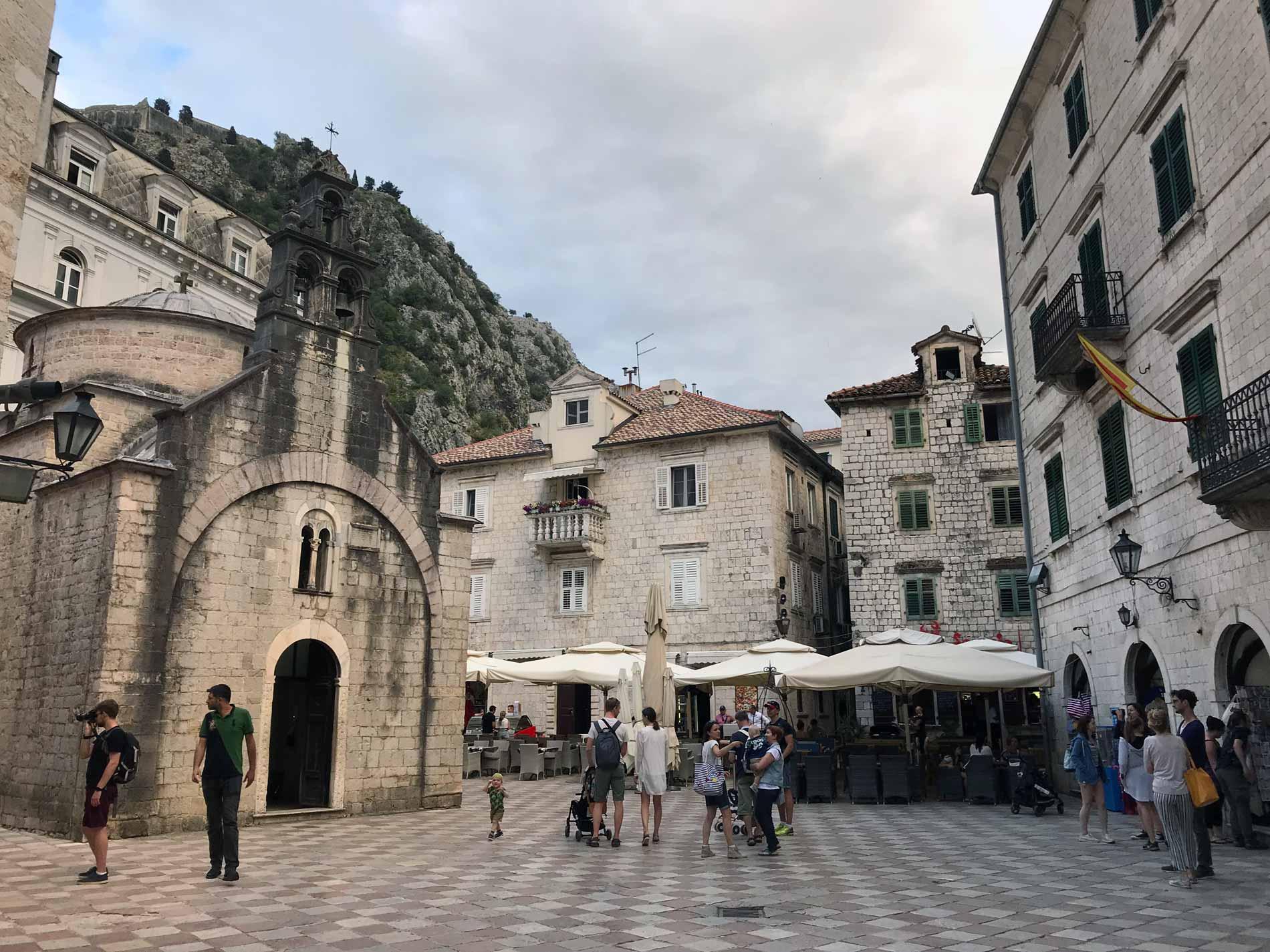 Kotor-Montenegro-Piazza San Luca-chiesa-di-San-Luca