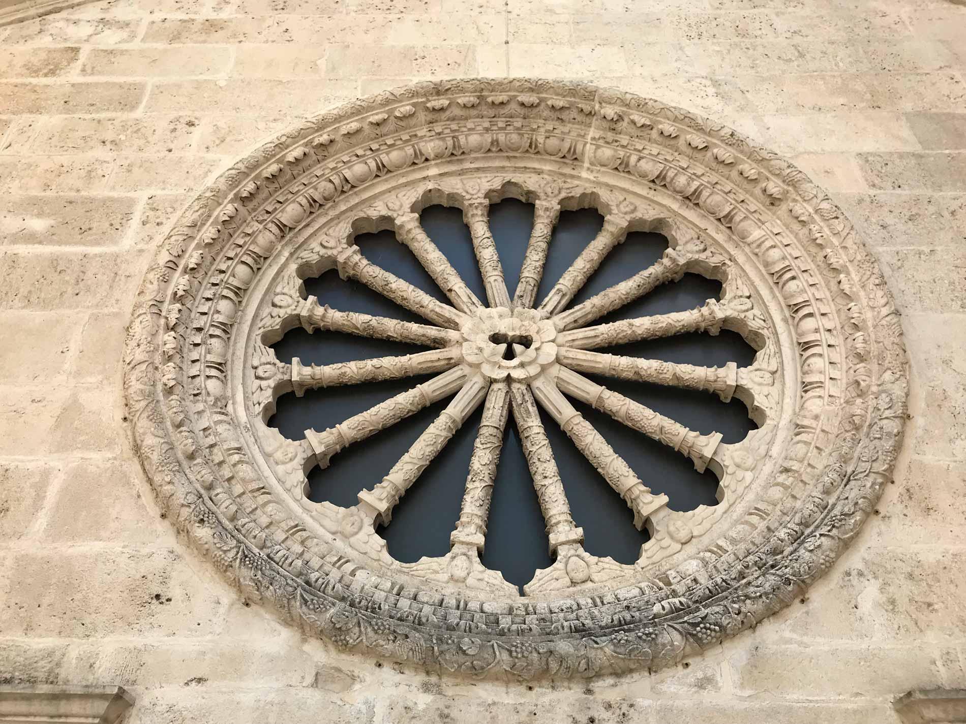Kotor-Cattedrale-di-San-Trifone-rosone-visto-dal-terrazzo