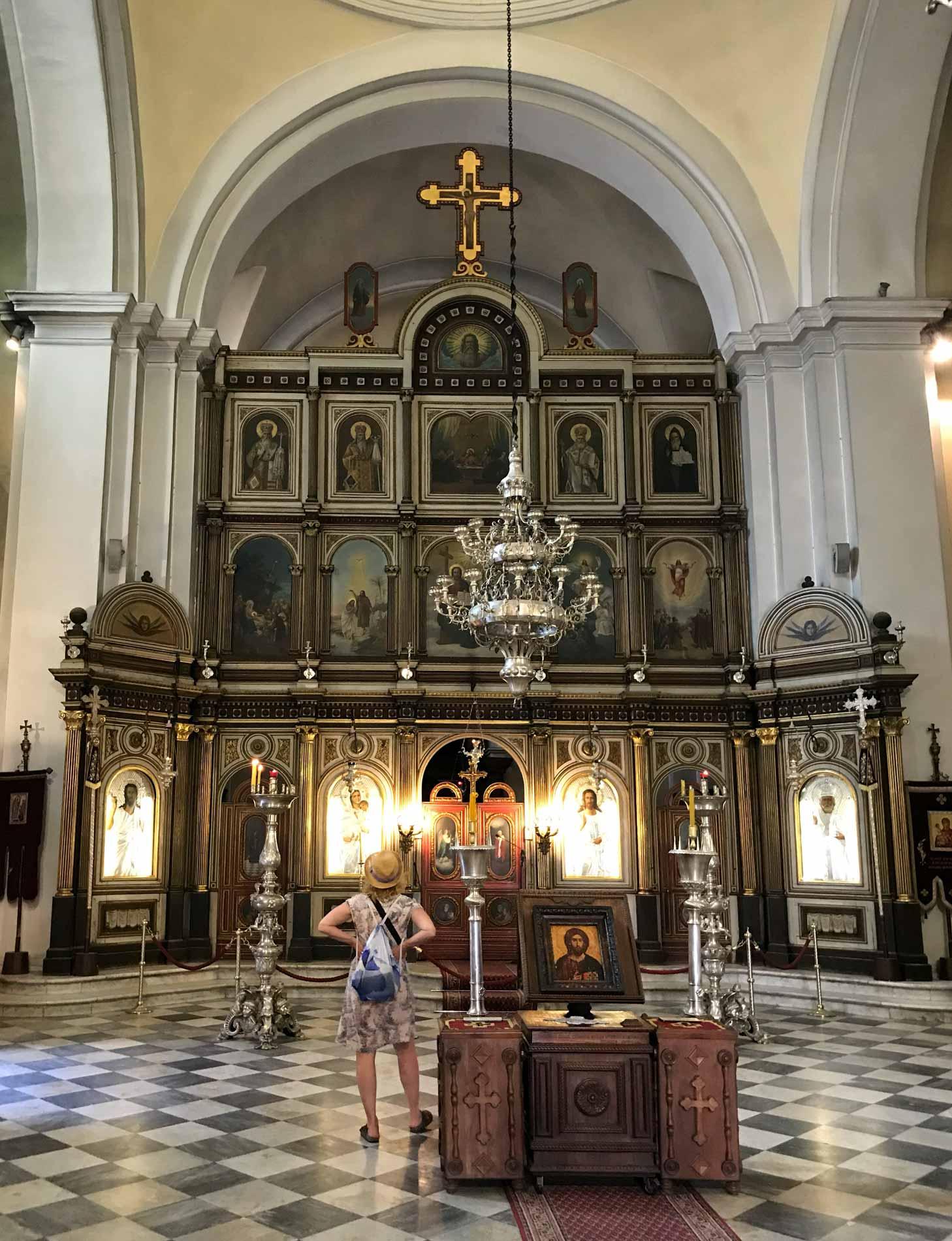 Kotor-Montenegro-Chiesa-di-San-Nicola-interno-icone