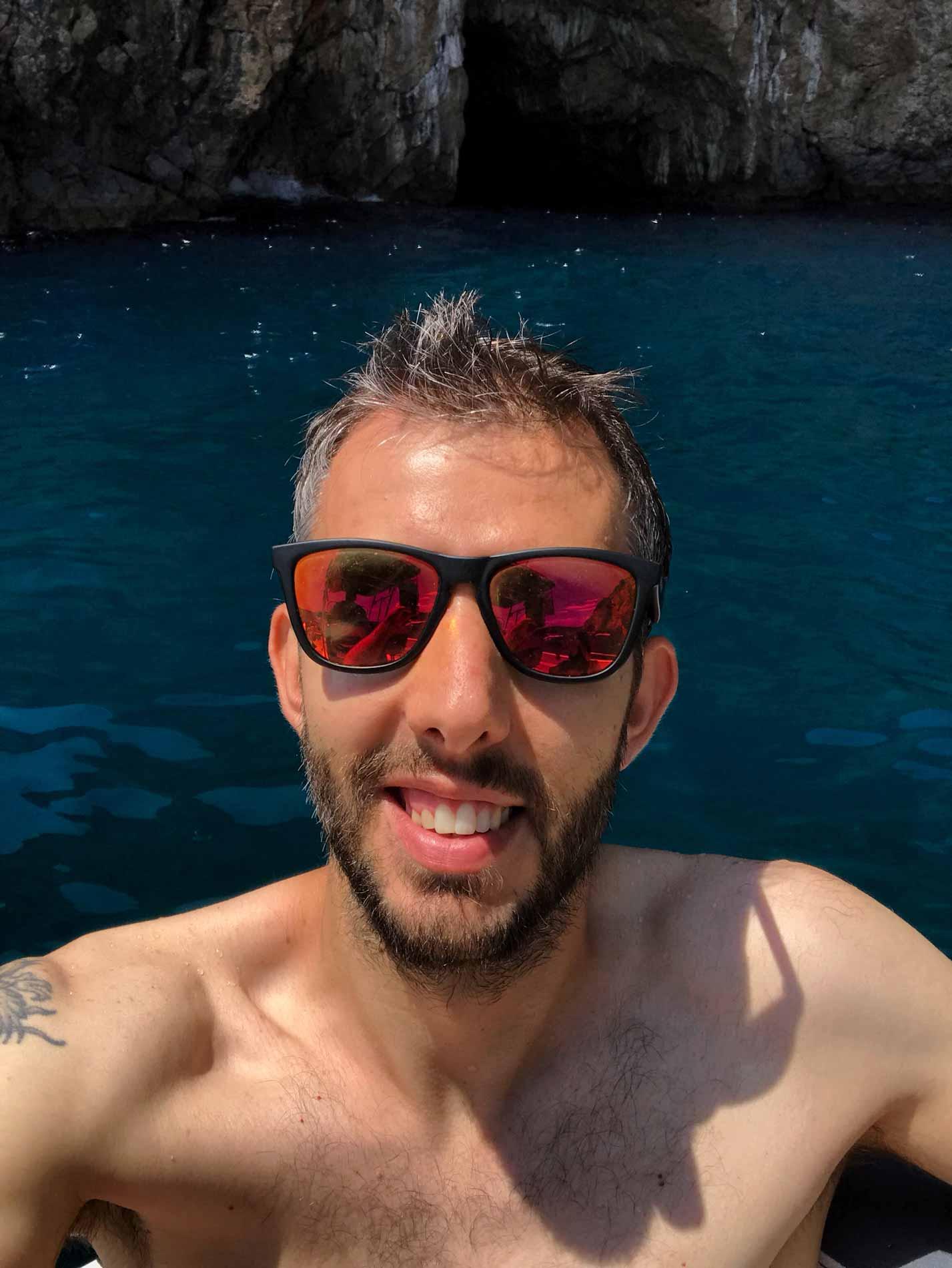 Mar-Adriatico-Bocche-di-Cattaro-Montenegro-Grotta-Azzurra-Plava-spilja-Simone-Colombo-srake
