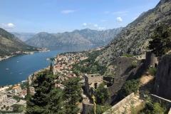 Kotor-Montenegro-mura-fortificazioni-veneziane-fortezza-San-Gerolamo-Soranco