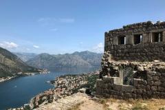 Kotor-Montenegro-mura-fortificazioni-veneziane-colle-san-Giovanni-bastione-Renier