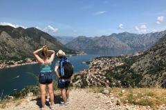 Kotor-Montenegro-mura-fortificazioni-veneziane-colle-san-Giovanni-