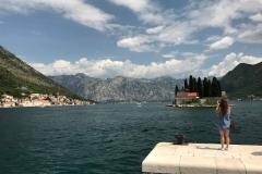 Perast-Bocche-di-Cattaro-Montenegro-vista-dellIsola-di-San-Giorgio-da-Madonna-delle-Rocce-mare