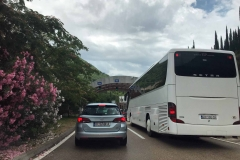 dogana-Montenegro-Croazia-pullman-auto-oleandro