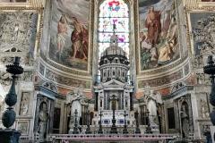Certosa-di-Pavia-altare-maggiore-affreschi-marmo