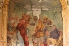 Certosa-di-Pavia-chiostro-affresco-Cristo