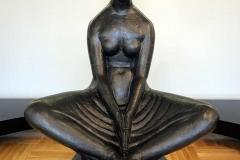 galleria-mestrovic-spalato-vergine-vestale-bronzo-del-1917